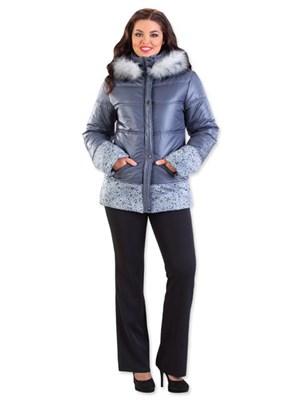 Куртка женская М-403/14, цвет розовый, размер 60 - фото 703043339