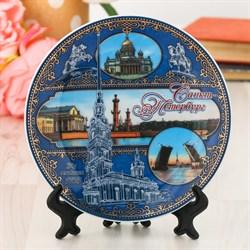 Тарелка сувенирная «Санкт-Петербург» - фото 707465878