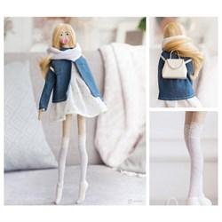Мягкая кукла  Джейн , набор для шитья 22,4 × 5,2 × 15,6 см - фото 707466349