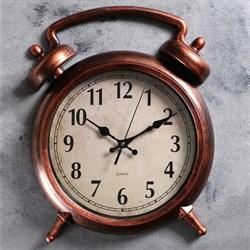 Часы настенные, серия: Классика,  Большой будильник , 38х28 см - фото 741532222