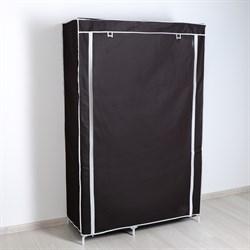 Шкаф для одежды 110×45×175 см, цвет кофейный - фото 741532277