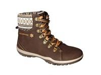 Ботинки женские Степ 14-54-1, цвет коричневый, размер 40