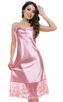 "Сорочка женская ""Будуар"" АС-1220, цвет розовый, размер 46"