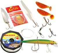 Набор для ловли крупной рыбы (таймень, ленок)