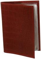 Обложка для автодокументов в122К (натур.кожа)