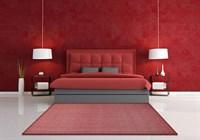 """Ковер прямоугольный """"Неаполь 380"""", цвет бордовый, 200х300 см"""