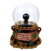 """Плазменный шар """"Привлекаю богатство и достаток"""""""