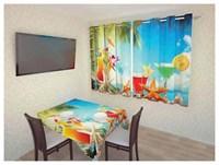 """Фотошторы для кухни """"Лето"""" арт.3069 (2,6х1,8)"""