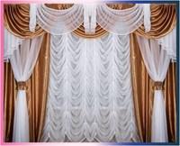 """Комплект штор для комнаты """"Афродита"""" (3м х 2,7м), цвет сиреневый"""