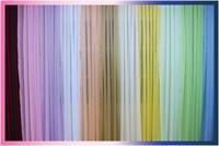 Тюль однот/цвет (капрон) 4х2,5 м, цвет розовый