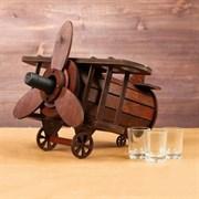 Мини-бар деревянный  Самолет