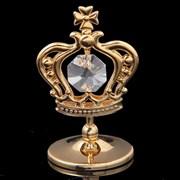 Сувенир «Корона», с кристаллами Сваровски