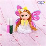 Кукла-малышка Юленька «Создай крылья своей мечты»: два геля с блёстками, МИКС