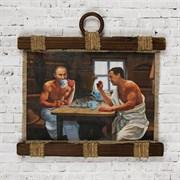 Сувенир свиток  Путин в бане