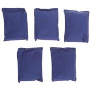 Мешочки для метания, набор 5 шт. по 500 г, цвета микс
