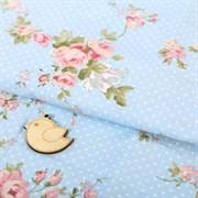 Ткань для пэчворка 100% хлопок «Цветочное настроение», 50 × 85 см