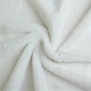 Мех искусственный, размер 40×50 см, цвет белый