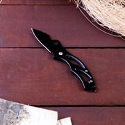 Нож перочинный складной  Черный ворон , лезвие 6 см